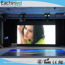 Mur visuel d'intérieur de club de nuit de location de maille de location de LED / panneau d'affichage mené