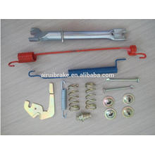 Brake repair spring and adjusting kit for Frontier Xterra parking shoe