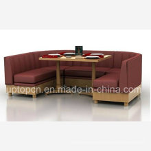 Upgrade Sofa Booth with Comfortable Cushion for Restaurant (SP-KS240)
