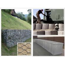 PVC beschichtet Galvanisierter Gabion Box Hersteller