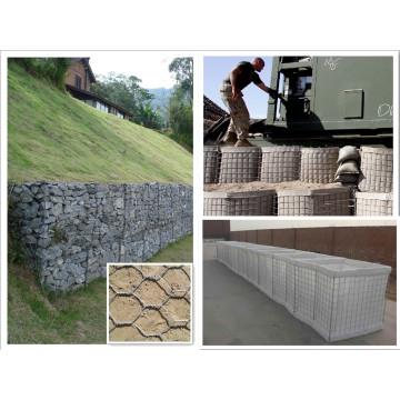 PVC Coated Galvanized Gabion Box Manufacturer