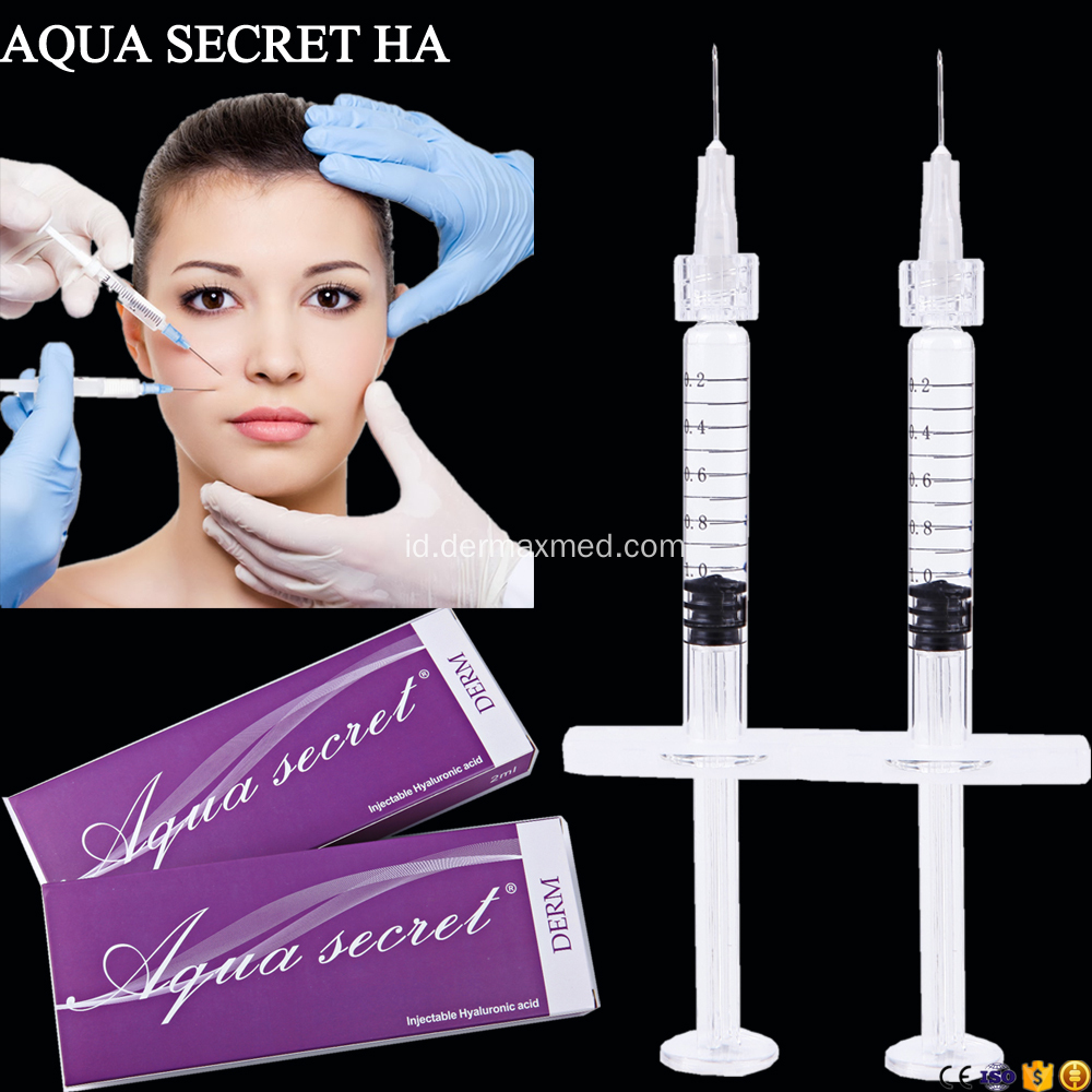Penyuntingan Dermal Facial Rejuvenation Cross Linked Injectable