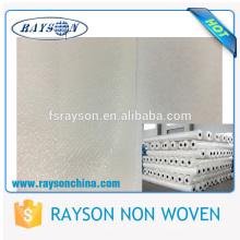 Materia textil laminada película baja del polipropileno de la tela de MOQ PE no tejidas