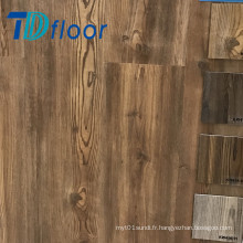Le bois profondément gravent la colle de lvt de pin vers le bas 2mm, 2.5mm, le plancher de vinyle de PVC de 3mm