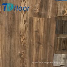 A madeira profunda grava a colagem de Lvt do pinho para baixo 2mm, 2.5mm, assoalho do vinil do PVC de 3mm
