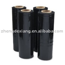 Black color stretch film/,PE Stretch film for palette wrapping