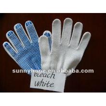 Пунктирная перчатка из ПВХ