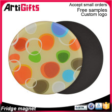 Personalized fridge magnet for souvenirs