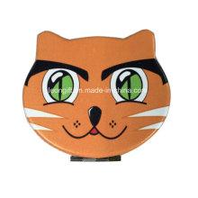 Gros chat promotion cuir miroir cosmétique