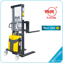 Customized for Offer Semi Electric Stacker Truck,Semi Lift Truck Semi Electric Stacker,Semi Electric Stacker From China Manufacturer Xilin CDD-BA economy semi-electric stacker export to Slovakia (Slovak Republic) Suppliers