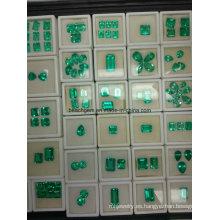 Biron creada Esmeraldas piedras preciosas sueltas