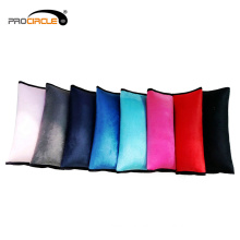 Colourful Soft Plush Head Neck Support Baby Car Seat Belt Pillow