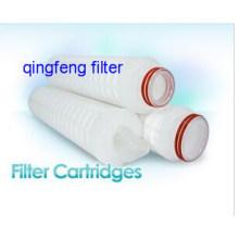 Cartouche filtrante plissée en nylon microporeux d'OEM