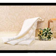высокое качество сплошной цвет хлопка-ватник одеяло