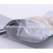 Custom Printed Flat Type Plastic Food Packaging Bag
