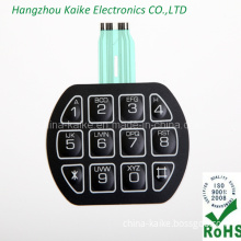 Custom Silk Screen Printing Membrane Switch for Remote Control