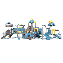 Leading for Ocean Series Small Children Playground Large Outdoor Slide System export to Burundi Factory