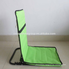 2015 hot sale folding beach seat with pocket for promotion
