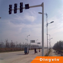 Q235-China-Origin HDG Street Lighting Pole