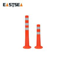 Hotsale Chinesische Fabrik Orange PU Kunststoff Flexible Verkehrsposten