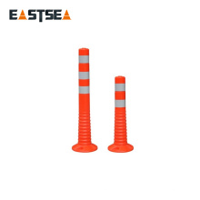 Hotsale Chinese Factory Orange PU Plastic Flexible Traffic Post