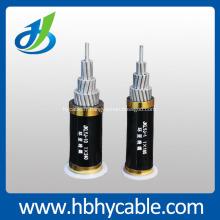 Câble électrique isolé aérien de XLPE en aluminium