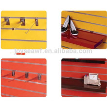 mdf slotted panel for display board