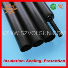 Semi-Rigid Heavy Thick Wall Black Thermo Shrinkable Tube