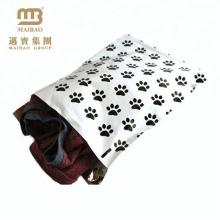 Projeto feito sob encomenda amigável da pata do cão de Eco que imprime Polybag forte autoadesivo de Ldpe para a camisa