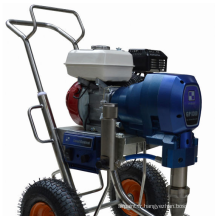 Grande machine de pulvérisation de moteur à essence de débit