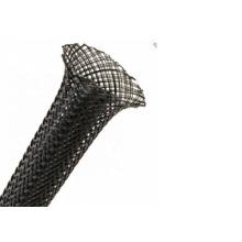 Weiße durchsichtige geflochtene Nylonhülse für Kabel
