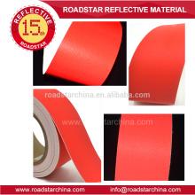 Impermeável colorido reflexivo PU couro artificial