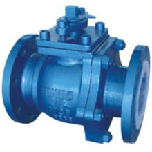 Carbon Steel Coating F46 PTFE Anti Corrosion Ball Valve