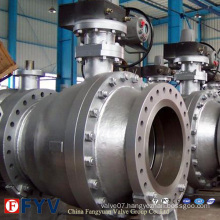 Trunnion Mounted 2PCS Flange Ball Valve