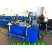 Heavy Duty ASTM Steel Strut Channel Roll Machine à former Myanmar