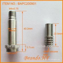Solenoid Polepiece / Führungsschlauch / Stößel für Magnetventil, Rohrdurchmesser 9mm