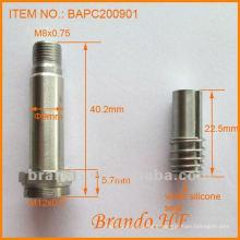 Solenoid Polepiece/ Guide Tube/ Plunger for Solenoid Valve, Tube diameter 9mm