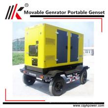 Genset pas cher 3 phase 380V / 220V 90kva diesel générateur mobile portable ghana générateur prix