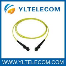 Fiber Optic Adapter Singlemode 1M SX LSZH Corning Fiber Optic Cable For CATV