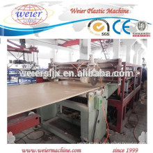 wpc pvc furniture plates/boards manufacture plant machine