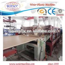 WPC ПВХ мебель пластины/платы производства завод машина