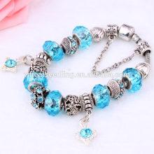 Oceano fresco romântico frisado relacionamento barato braceletes em massa pulseira personalizada