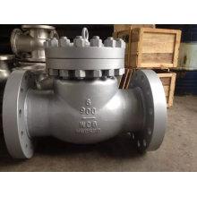 Válvula de retención de brida oscilante Wcb (H44)