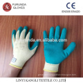 Latex palm coated polycotton gloves,industrial hand gloves