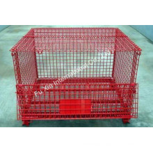 Collapsible Wire Mesh Storage Cage