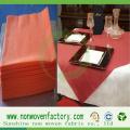 Spunbond 100% PP-Nonwoven-Stücke für Tischdecke