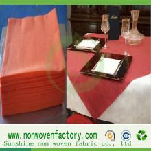 Paño de tabla barato colorido del paño no tejido