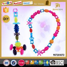 Novo diy jóias conjunto de jóias vestir-se jogos para meninas
