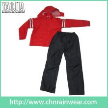 Vestuário de esportes de poliéster dos homens / terno de esportes / sports wear