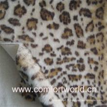 Fourrure d'impression léopard